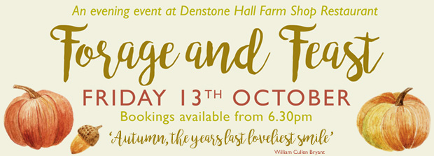 Forage and Feast - Evening Event