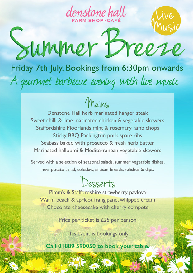 Summer Breeze - Friday 7th July