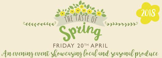 Taste of Spring - Café Evening Event