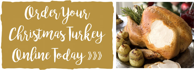 Order your Christmas Turkey Online Today