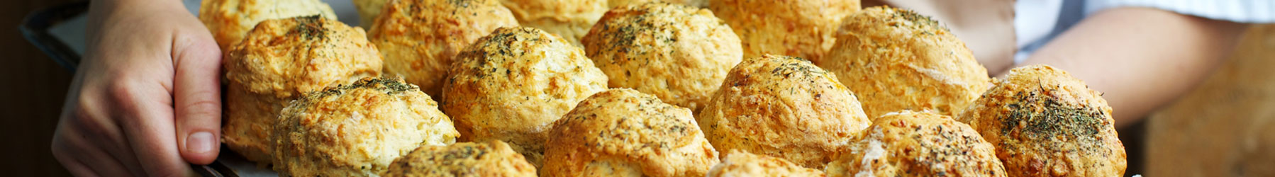 cheese scones at denstone hall farm shop and cafe
