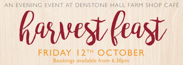 Harvest Feast at Denstone Hall Farm Shop Café