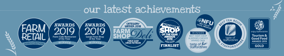 denstone hall farm shop, 2019's large farm shop & restaurant of the year winner