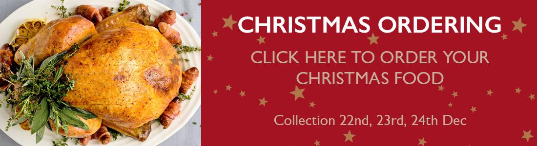 Christmas Food Orders